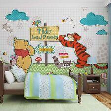 Disney Wallpaper mural for children's bedroom Winnie The Pooh design photo wall