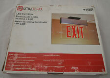 UTILITECH 144531  LED EXIT SIGN