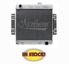 """Northern 205156 - Hot Rod Radiator 19-3/4"""" W X 20-1/4"""" H, ILeft / Out-Right"""