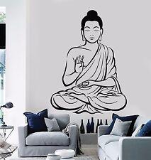 Wall Stickers Vinyl Decal Buddha Buddhism Zen Religion Indian  (z2019)