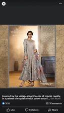 Original Pakistani Maria B Shalwar Kameez Indian Wedding Dress Designer Suit New