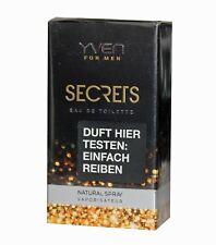 Yven for Men secrets Eau de Toilette 50ml Spray EdT Vaporisator
