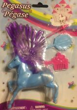 pegasus figurine horse play wings fashion comb mirror wand Toy Gift