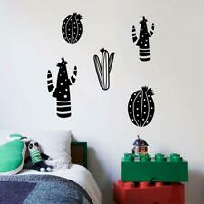 Desert Plant Cactus Cartoon Home Room Wall Sticker Vinyl Art Decal Decor Kids