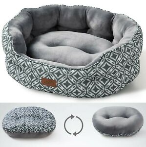 """Bed for Small Dogs & Cats 20"""" x 19"""" x 16"""" Washable Slip-Resistant Soft - Bedsure"""