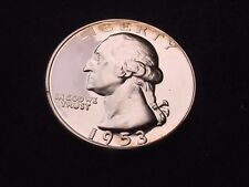 1953 WASHINGTON QUARTER GREAT PROOF 90 % SILVER COIN--GREAT COIN!!!   #64