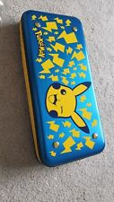 Rare Pokemon Shockproof metal Hard Case Cover Nintendo Switch Protective Shell