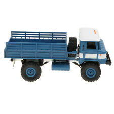 1:16 Remote Control Blue Military Truck 4-Wheel  Vehicle Model Toy