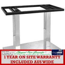FED COMMERCIAL RECTANGLE STAINLESS STEEL TABLE BASE 720H 8003-3