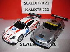 Aston Martin DBR9 y Mercedes SLS Amg Gt3 SCX 1:32 adrenaline cup