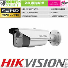 HIKVISION 2MP 1080P 2.8-12mm HD-TVI TURBO EXIR WDR WHITE BULLET SECURITY CAMERA
