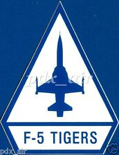 INTERNATIONAL TIGER II F-5 SINGLE-SEAT NORTHROP F-5A/B FREEDOM FIGHTER STICKER