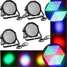4PCS DMX512 127 RGB LED Stage Effect Light Disco DJ Party Show Home USA X9Q8