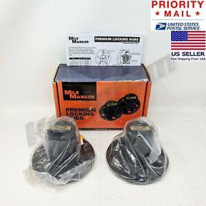 *NEW* Genuine MILE MARKER® 427 Locking Hubs Set of 2 for '83-90 Bronco II Ranger