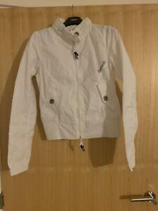Ladies Bnwt Bench Size Small White Bomber Jacket
