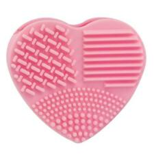 Pro Silicone Egg Cleaning Glove Makeup Washing Brush Scrubber Tool Cleaner Pink