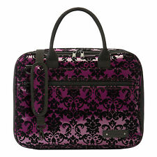 Beaumont Clarinet/Oboe Purple Lace Padded Case Cover Bb Student Outer Carry Bag
