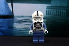 Lego Mini Figure Star Wars Clone Pilot with White Printed Head from Set 8096