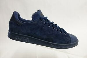 ADIDAS Stan Smith Suede Blue Sz 9.5 Men Running Shoes