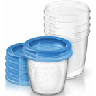 Philips Avent Breast Milk Storage Cups 6 oz SCF619/05 - 5 ct