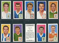 """COMET SWEETS 1963 """"FOOTBALLERS AND CLUB COLOURS"""" TRADE CARDS - PICK YOUR CARD"""