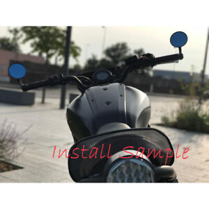 "7/8"" Handlebar End Mirrors For Scooters Cafe Racer Ducati Scrambler Monster 696"