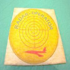 Radar Operator aviazione aerei STICKER adesivo vintage