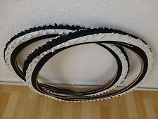 """2x Kenda 20 Zoll BMX Reifen schwarz/weiß K-829 20x2.00 (54-406) 20"""" MTB Decke"""