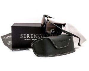 Men's Serengeti Summit Sunglasses  Photochromic Black Drivers 5602 - Brand New