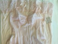 Vintage New With Tags Vanity Fair Dawn Pink Slip with Lace Sz 32 c1950s-60s