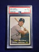 1957 Topps Ron Northey #31 PSA 8 Chicago White Sox