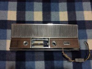 1965 CHRYSLER IMPERIAL CROWN LEBARON AM/FM RADIO BEZEL RARE