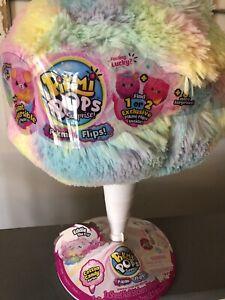 New Pikmi Pops Giant Flips Eddie The Dog Reversible Surprise Cotton Candy Plush