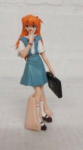 Bandai EVA Evangelion HGIF Gashapon Figure Asuka Langley School Uniform