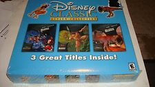 Disney Classic Action Collection Interactive CD-Roms 1999 Tarzan/New Groove/Dino