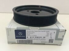 MERCEDES BENZ GENUINE NEW POWER STEERING PUMP PULLEY W203 W164 W210 A6112300115