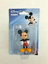 """Disney Figurine Mickey Mouse Cake Topper Small Toy Mickey & Friends 2.5"""" Tall"""
