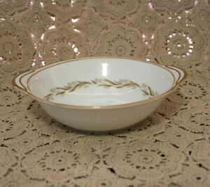 """VINTAGE NORITAKE """"LAUREL"""" #5903, TWO HANDLED LUGGED CEREAL BOWL - EX CONDITION"""