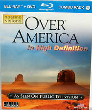 Over America Blu-ray/DVD 2-Disc Set As Seen TV HIigh Def DC LA IL HI Travel New!