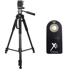 "XIT 72"" Tripod + Wireless Remote for Canon SL1 70D 60D T6i T6s T5 T5i T4 SLR"