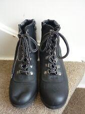 Ladies dark brown boots size 7