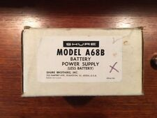 Shure A68B Microphone battery power supply new in box. M68, M68-2, PE68M lt GC38