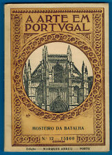 1952 - Mosteiro da Batalha - A Arte Em Portugal -N°12 - Edit.M.abreu