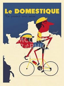 """WILSON SPENCER -DOMESTIQUE PROTECT AND SERVE - ART PRINT POSTER 14"""" X 11"""" (1869)"""