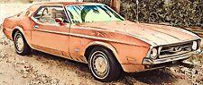 Ford Mustang 2D Hardtop Frontscheibe  Bj 1971 – 1972 Model 63D, Boss, 63R Mach 1