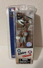 """Ichiro Mariners & Jim Thome Phillies 3"""" Action Figure 2-pack McFarlane MLB"""