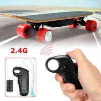 Wireless Remote 2.4Ghz Mini Controller Receiver F/ Electric Skateboard Longboard