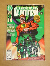 GREEN LANTERN #19 VOL 3 DC COMICS DS 50TH ANNIVERSARY DECEMBER 1991