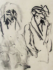 WILLEM DE KOONING - A YOUNG POET- ORIGINAL LITHOGRAPH - FREE SHIP IN US