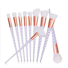 10 Pcs Makeup Brush Brushes Blusher Eyeshadow Foundation Concealer Beauty